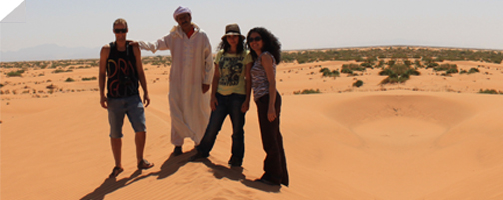 DET summer team at Ain Nsissa, Morocco